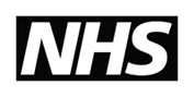 eating disorder and the NHS logo