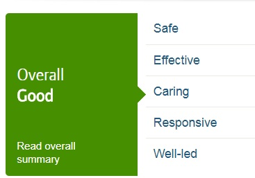 CQC overall Good rating