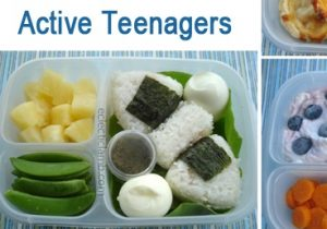 Nutrition for active teenagers