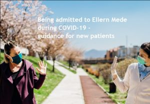 Ellern Mede patients admitted during Covid-19